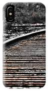 0003 Train Tracks IPhone Case