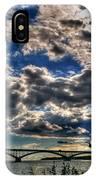 001 Peace Bridge Series II Beautiful Skies IPhone Case