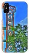 001 Sheas Buffalo IPhone Case