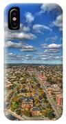 0010  Autumn Days Of Buffalo Ny Birds Eye IPhone Case
