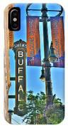 002 Sheas Buffalo IPhone Case