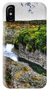 0023 Letchworth State Park Series IPhone Case