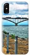 004 Stormy Skies Peace Bridge Series IPhone Case