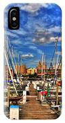 005 On A Summers Day  Erie Basin Marina Summer Series IPhone Case