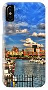 006 On A Summers Day  Erie Basin Marina Summer Series IPhone Case