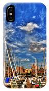 007 On A Summers Day  Erie Basin Marina Summer Series IPhone Case