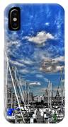 007sc On A Summers Day  Erie Basin Marina Summer Series IPhone Case