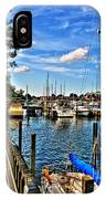 008 On A Summers Day  Erie Basin Marina Summer Series IPhone Case