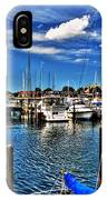 009 On A Summers Day  Erie Basin Marina Summer Series IPhone Case