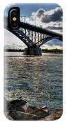 009  Peace Bridge Series II Beautiful Skies IPhone Case