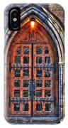 01 Church Doors IPhone Case