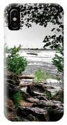 01 Three Sisters Island IPhone Case