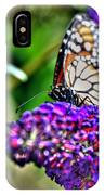012 Making Things New Via The Butterfly Series IPhone Case