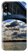 012  Peace Bridge Series II Beautiful Skies IPhone Case