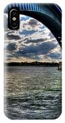 013 Peace Bridge Series II Beautiful Skies IPhone Case