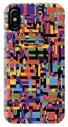 0649 Abstract Thought IPhone Case