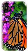 007 Making Things New Via The Butterfly Series IPhone Case