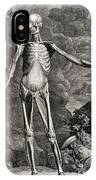18th Century Anatomical Engraving IPhone Case
