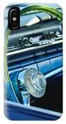 1961 Pontiac Catalina Steering Wheel IPhone Case