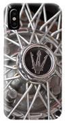 1972 Maserati Ghibli 4.9 Ss Spyder Wheel IPhone Case