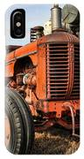 A Case Of Old Age IPhone Case