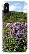 A Field Of Lupins IPhone Case