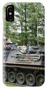 A Leopard 1a5 Mbt Of The Belgian Army IPhone Case