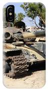 A T-72 Tank Destroyed By Nato Forces IPhone Case