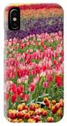 A Tulip Field IPhone Case