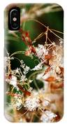 Abstract And Ice Crystals IPhone Case