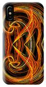 Abstract Ninety-one IPhone Case