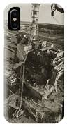 Aerial View Of Chernobyl Soon After The Accident. IPhone Case