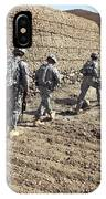 Afghan National Army And U.s. Soldiers IPhone Case