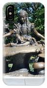 Alice In Wonderland In Central Park IPhone Case