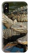 Alligator Pool Party IPhone Case