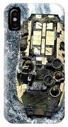 An Amphibious Assault Vehicle Navigates IPhone Case