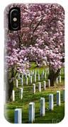 Arlington Cherry Trees IPhone Case
