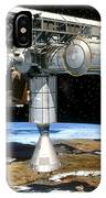 Artwork Of The International Space Station IPhone Case