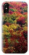 Autumn Along The Highland Scenic Highway IPhone Case