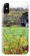Autumn Along Tioga Road IPhone Case