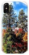 Autumn Beginnings IPhone Case