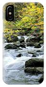 Autumn Stream 3 IPhone Case