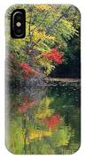 Autumn Tree Reflections IPhone Case