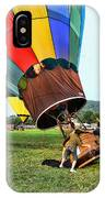 Balloonist - Ready For Takeoff IPhone Case