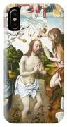 Baptism Of Christ IPhone Case