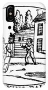 Baseball Game, 1820 IPhone Case