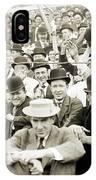 Baseball: Playoff, 1908 IPhone Case