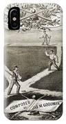 Baseball Polka, 1867 IPhone Case