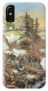 Battle Of Chattanooga 1863 IPhone Case