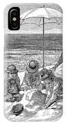 Beach Scene, 1879 IPhone Case
